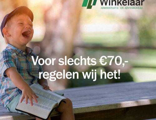 Nieuwe website Winkelaar
